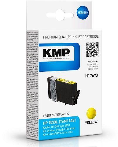 KMP HP 903 XL (T6M11AE) žlutá