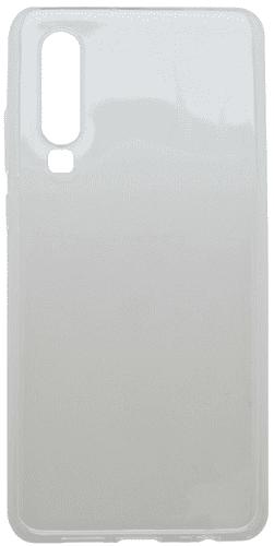 Mobilnet gumové pouzdro pro Huawei P30, transparentní