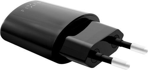 Fixed USB síťová nabíječka 2,4A, černá