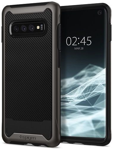 Spigen Hybrid NX pouzdro pro Samsung Galaxy S10+, metalická
