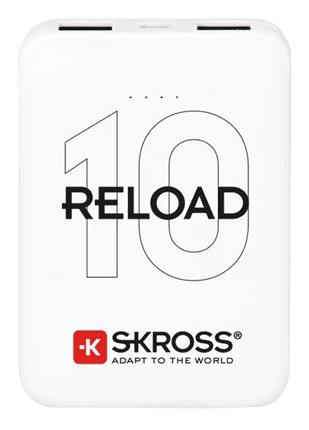 SKROSS Reload 10 powerbanka 10 000 mAh, bílá