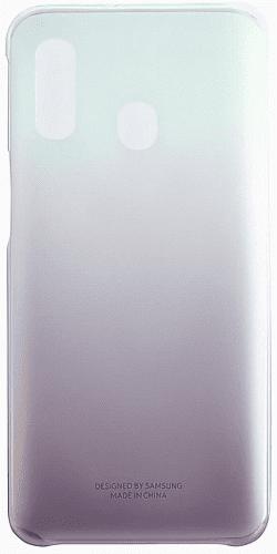 Samsung Gradation Cover zadní kryt pro Samsung Galaxy A40, černá