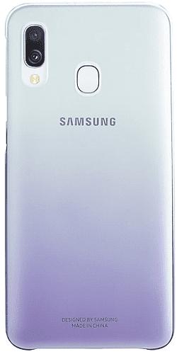 Samsung Gradation Cover zadní kryt pro Samsung Galaxy A40, fialová
