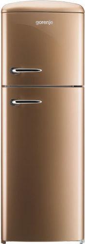 Gorenje RF 60309 OCO hnědá kombinovaná chladnička