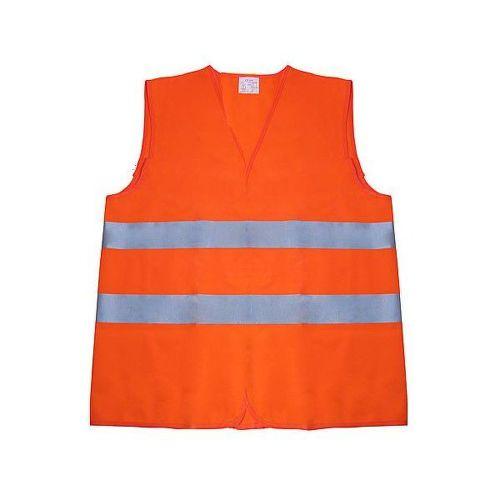 Reflexná vesta oranž.