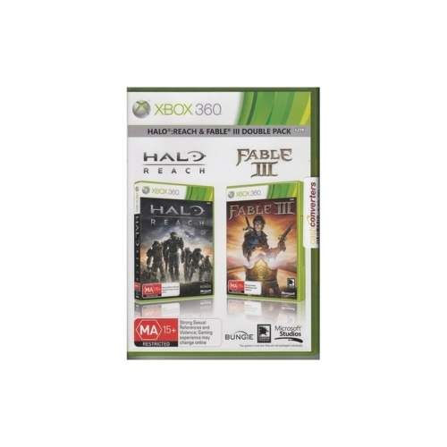 XBOX360 - Halo Reach/Fable 3 Bundle