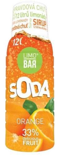 LIMO BAR Sirup Pomaranc 0,5l