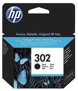 HP F6U66AE No.302 black - atrament