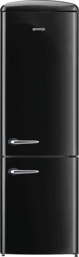 GORENJE ORK192BK, kombinovaná Retro chladnička
