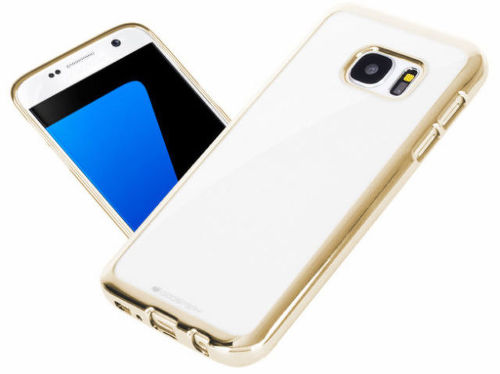 Aligator pouzdro na Samsung Galaxy S7 (zlatá)