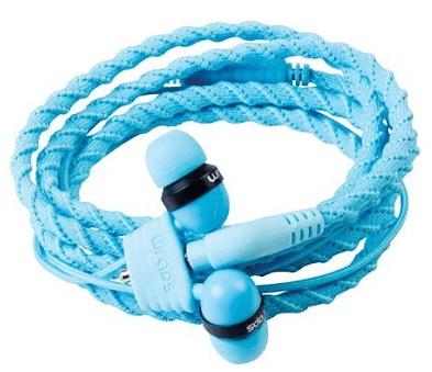 Wraps Talk Lagoon Káblové slúchadlá (modré)