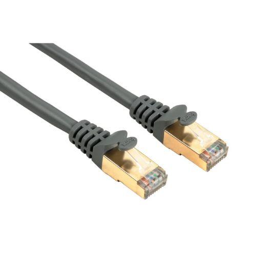 Hama 41898 sieťový patch kábel CAT 5e, 2xRJ45, tienený, 10m