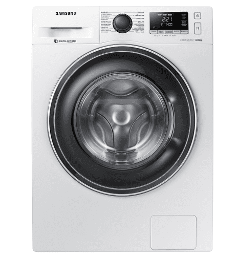 Samsung WW80J5446EW/ZE bílá pračka plněná zepředu