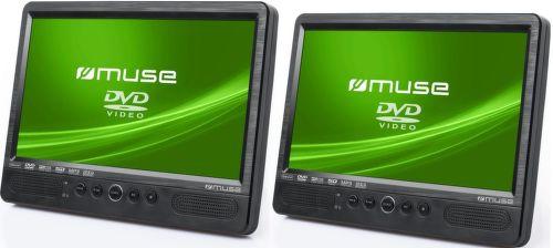 MUSE M-1095CVB, Prenosné DVD do auta, 2x