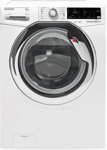 HOOVER DXOA44 38AHC3/2, bílá smart pračka plněná zepředu