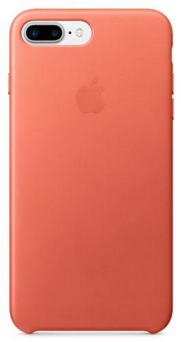 Apple Leather Case pre Apple iPhone 7 Plus Geranium