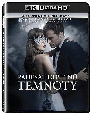 Padesát odstínů temnoty - 2xBD (Blu-ray + 4K UHD film)