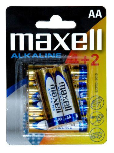 Maxell LR6 4+2