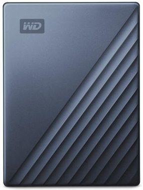 WD My Passport Ultra 4TB USB-C/USB 3.0 modrý