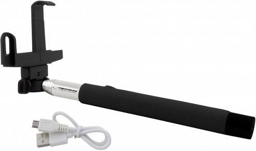 Esperanza EMM115 Bluetooth selfie tyč tripod, černá