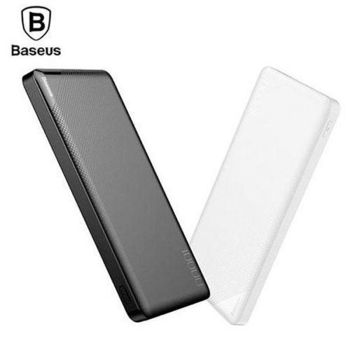 Baseus Mini Cu powerbanka 10 000 mAh, bílá