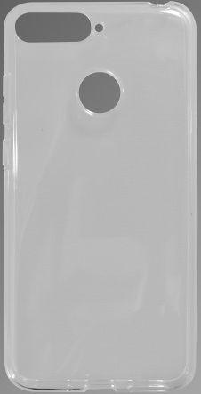 Mobilnet gumové pouzdro pro Honor 7A, transparentní