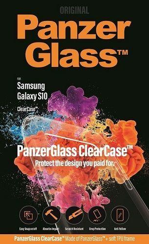 PanzerGlass ClearCase pouzdro pro Samsung Galaxy S10, transparentní