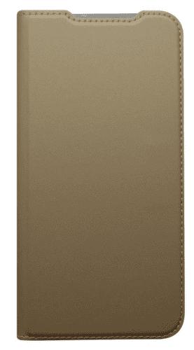 Mobilnet Metacase flipové pouzdro pro Xiaomi Redmi 7, zlatá