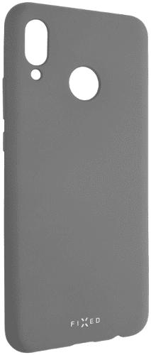 Fixed Story silikonový zadní kryt pro Huawei Nova 3, šedá