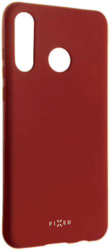 Fixed Story silikonový zadní kryt pro Huawei P30 Lite, červená