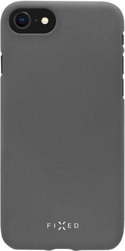 Fixed silikonové pouzdro pro Samsung Galaxy A50, šedá