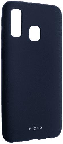 Fixed Story silikonový zadní kryt pro Samsung Galaxy A40, modrá
