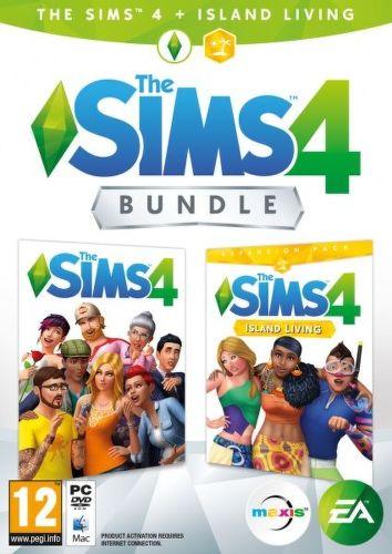 The Sims 4 + rozšíření The Sims 4 - Život na ostrově