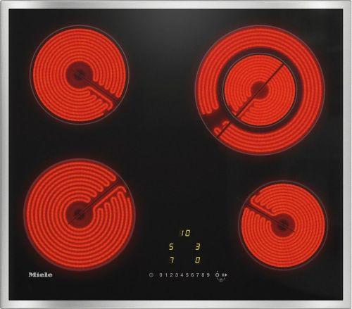 MIELE KM 6520 FR, černá sklokeramická varná deska