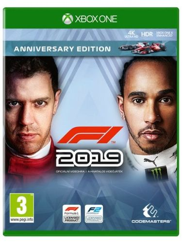 F1 2019 Anniversary Edition Xbox One hra