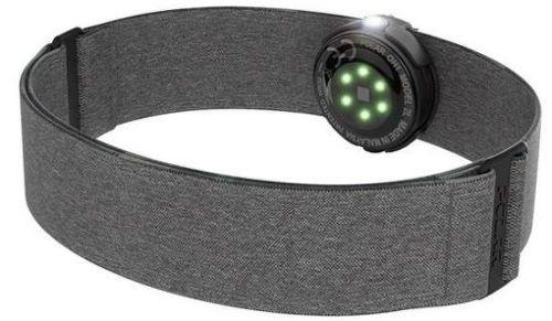 Polar OH1+ pažní optický popruh, šedý