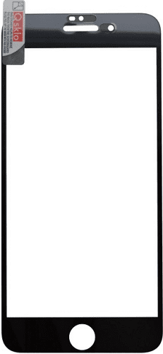 Q sklo 2,5D tvrzené sklo pro Apple iPhone 8+/7+, černá