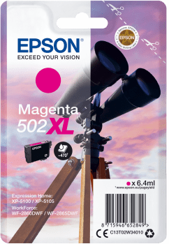 EPSON single 502 XL MAGENTA