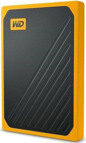 WD My Passport Go 500GB USB 3.0 žlutý