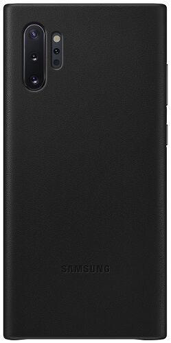 Samsung Leather Cover pro Samsung Galaxy Note10+, černá