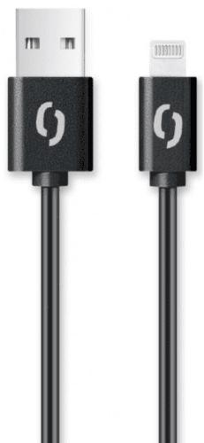Aligator Lightning kabel 2A 1 m, černá