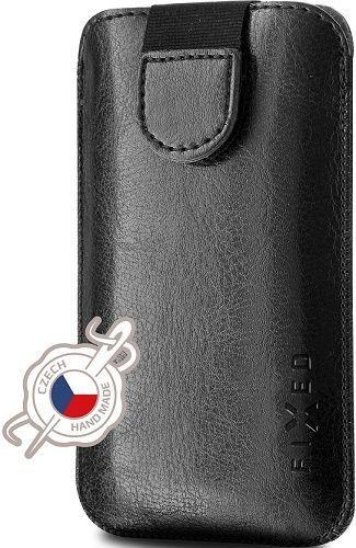 Fixed Soft Slim pouzdro z PU kůže 4XL+, černá