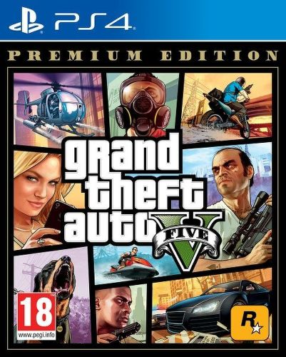 Grand Theft Auto V Premium Edition PS4 hra