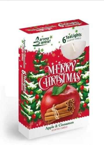Sweet Home Veselé Vianoce, čajové svíčky