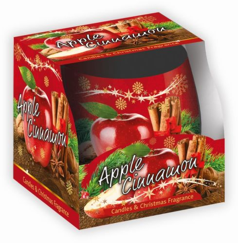 Sweet Home Jablko Škorica, Vonní svíčka