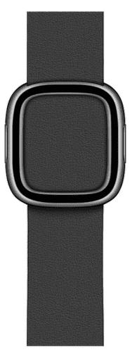 Apple Watch 40 mm kožený řemínek s magnetickou přezkou malý, černý