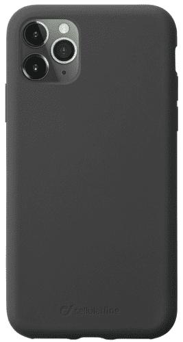 CellularLine Sensation silikonové pouzdro pro Apple iPhone 11 Pro Max, černá
