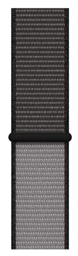 Apple Watch 44 mm športové prevliekací remienok extra veľký, čiernošedý