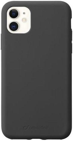 CellularLine Sensation silikonové pouzdro pro Apple iPhone 11, černá