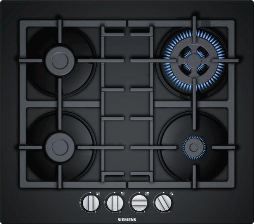 SIEMENS EN6B6HB90, černá plynová varná deska